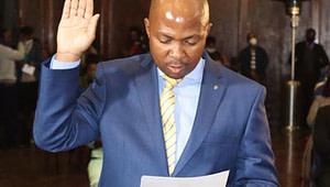 Motlatsi Maqelepo, Lesotho's new health minister