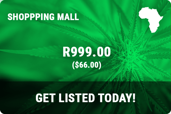 cannabiz africa; cannabis shopping mall