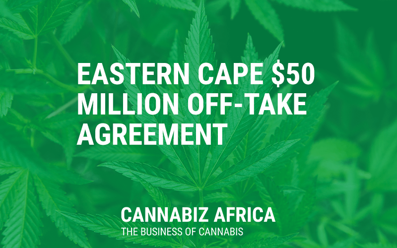 eastern cape 50 million off-take agreement