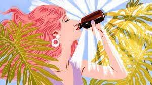 Ladies Love Cannabis Drinks; Debra Borchardt