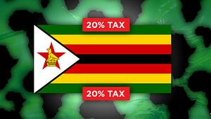 zimbabwe flag,