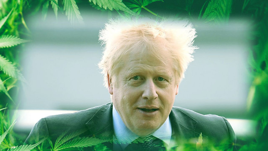 boris johnson cannabis