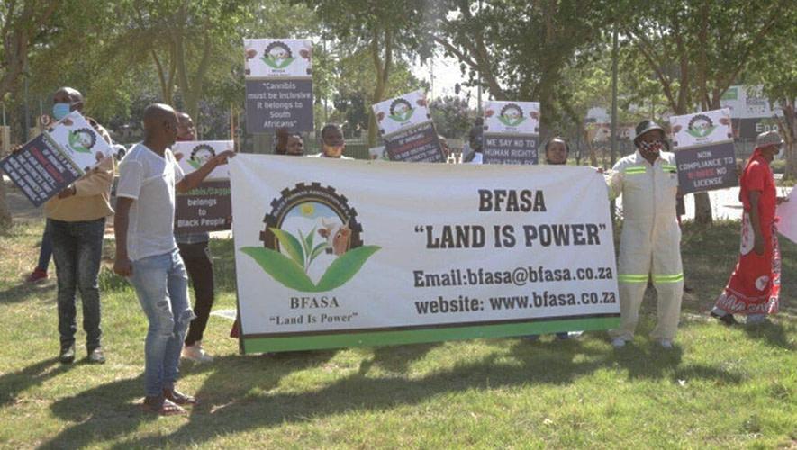SAHPRA License Protest